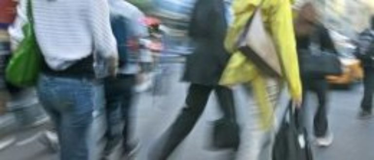 Article : Les gens dans la rue